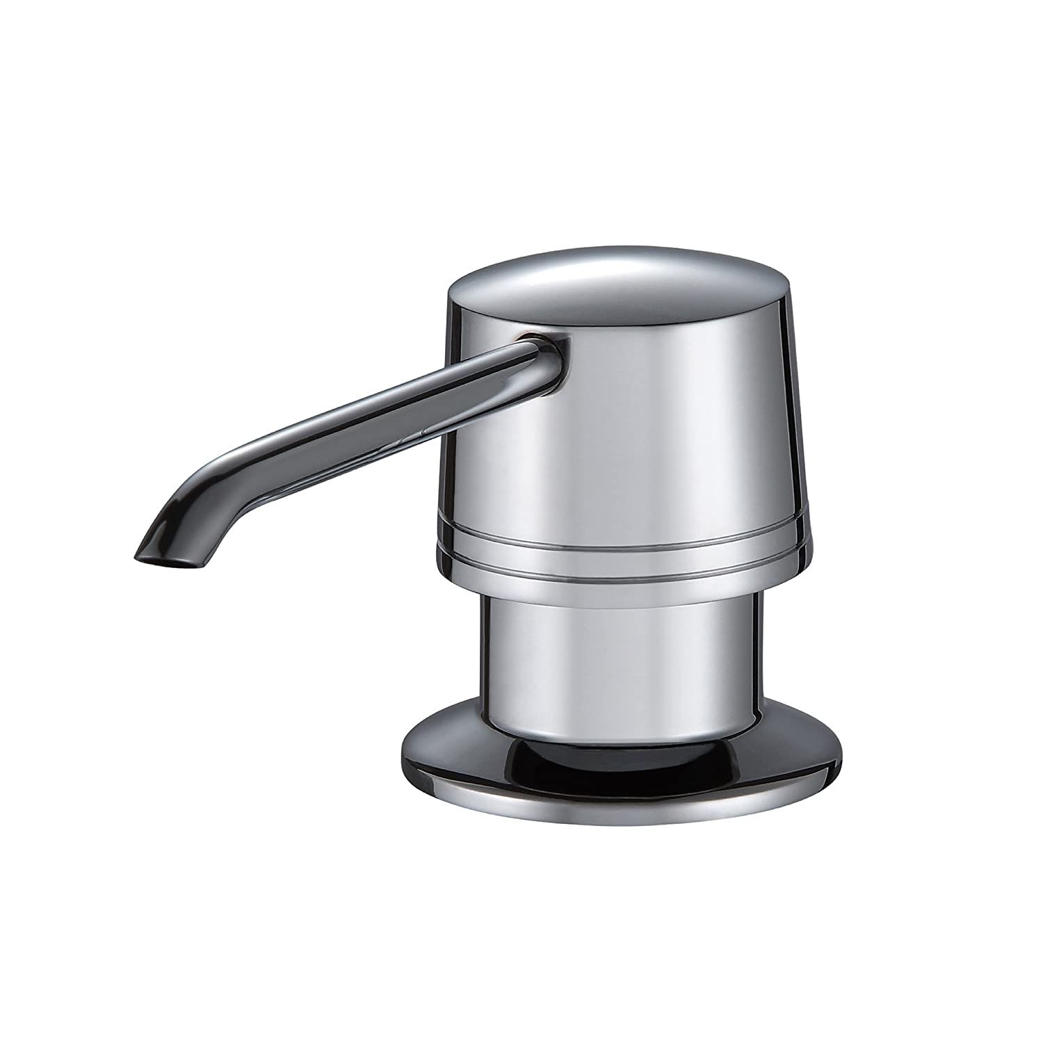 Kraus KHU100-30-KPF1612-KSD30CH 30 inch Undermount Single Bowl Stainless Steel Kitchen Sink with Chrome Kitchen Faucet and Soap Dispenser