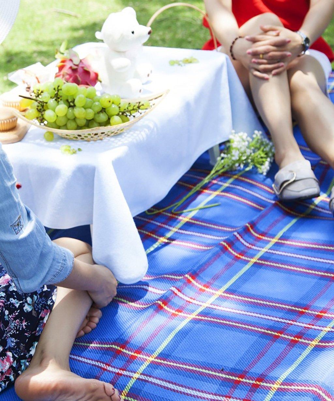 LIANJUN Portable Portable Portable Picknick-Matte Picknick-Teppich Camping Outdoor-Decke Beach Mat Festival Wasserdichte Backing Teppich Student Double B073ZFKBL8 | Louis, ausführlich  3f65d9