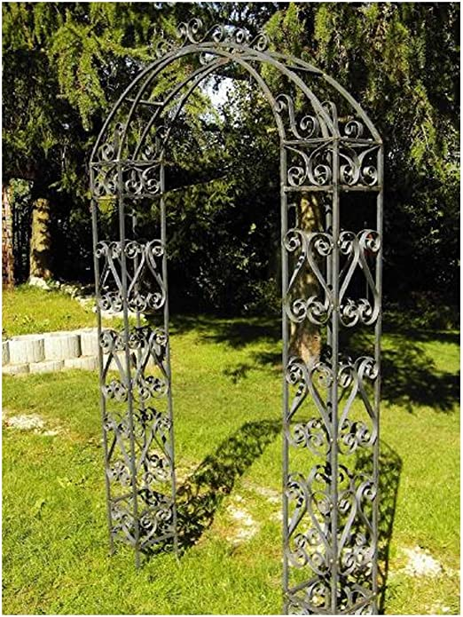 EQT-TEC – Arco para Rosas, de Acero, 235 cm, para jardín ...