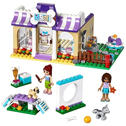 Amazoncom Lego Friends Heartlake Puppy Daycare 41124 Toys Games
