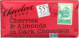 product image for Chocolove Xoxox Premium Chocolate Bar - Dark Chocolate - Cherries and Almonds - Mini - 1.3 oz Bars - Case of 12