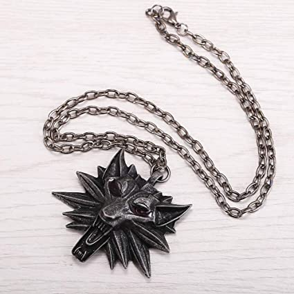FITIONS - JEWELRY The Witcher 3 Wild Hunt Medallion Pendant ...