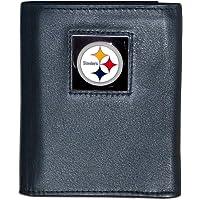 SISKIYOU NFL Unisex-Adult Billetera de Piel de Tres Pliegues