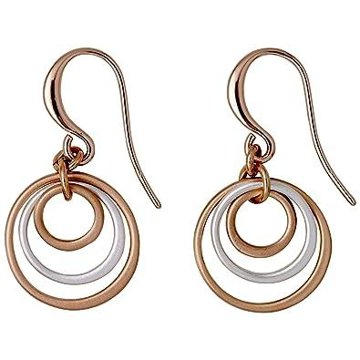 im Angebot attraktive Farbe heißes Produkt 641734043 Iona Ohrringe rosegold silber Ringe Pilgrim ...