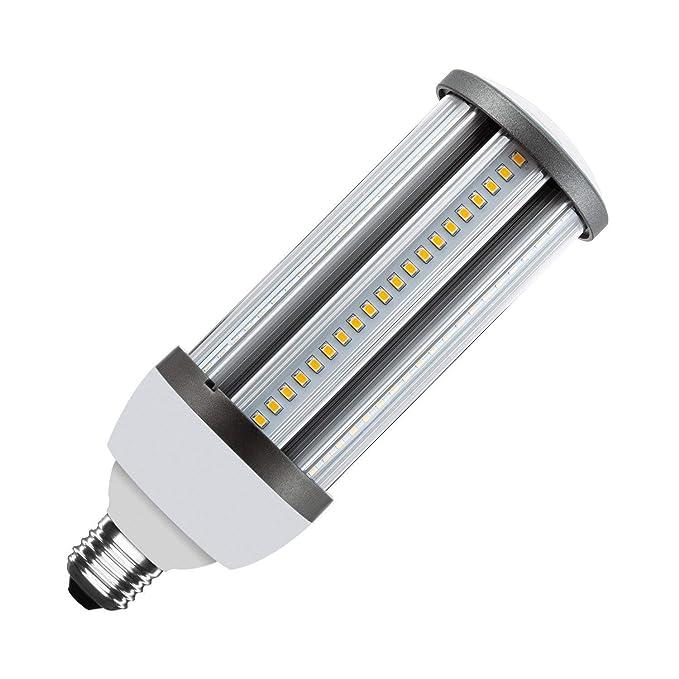 Lámpara LED Alumbrado Público Corn E27 30W Blanco Frío 6000K-6500K efectoLED: Amazon.es: Iluminación