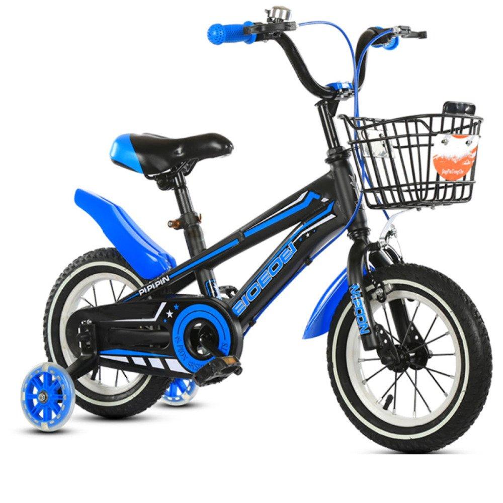 yihangg Bike for子2 ~ 10年古い調節可能軽量トレーニングペダルバイクガールボーイ子供用自転車 B07D16BPN8 D(14Inches) D(14Inches)