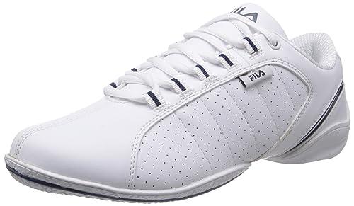 5f10600d3e9 Fila Men Mercury White Navy Sneakers -7 UK India (41 EU)  Buy Online ...