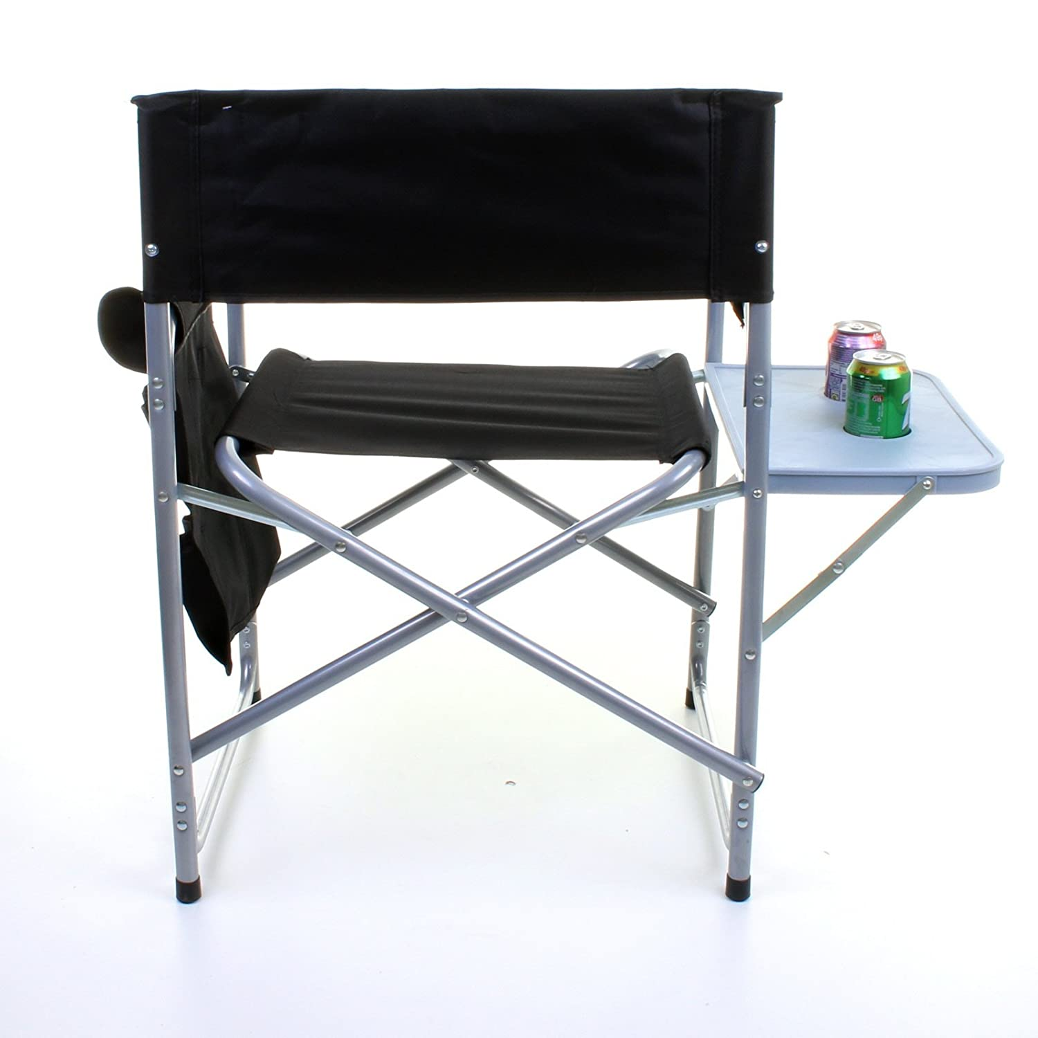 Marko Outdoor Folding Directors Chair Lightweight Portable Fish