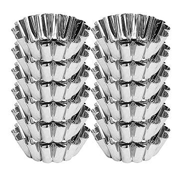 Menax - Flanero Individual Rizado en Aluminio - Set de 12 ...