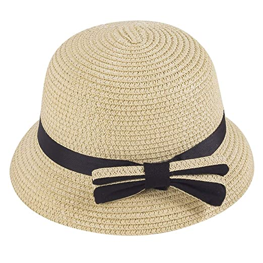 kaifongfu 3-5 Years Old Children Straw Boater Hat Festival Summer Sun Beach  Hat Fisherman 9fdcd7b40a5