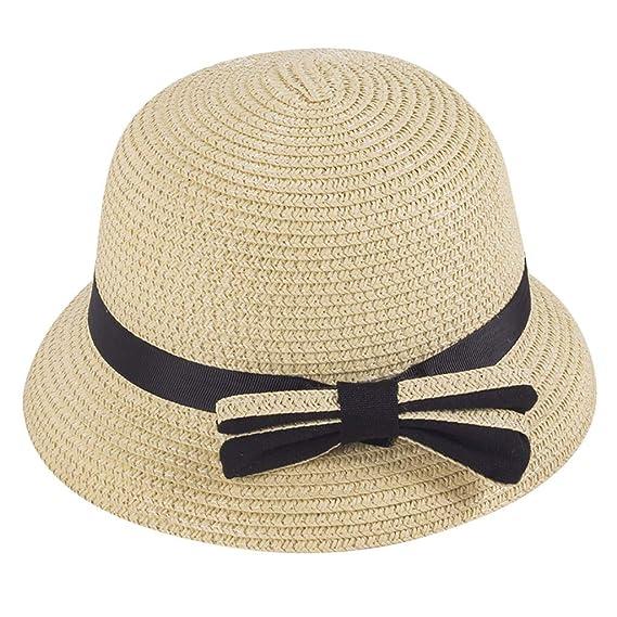 SIGGI Damen Faltbarer Sonnenhut Sommerhut mit Sonnen Schutz Fischerhut Breite Krempe