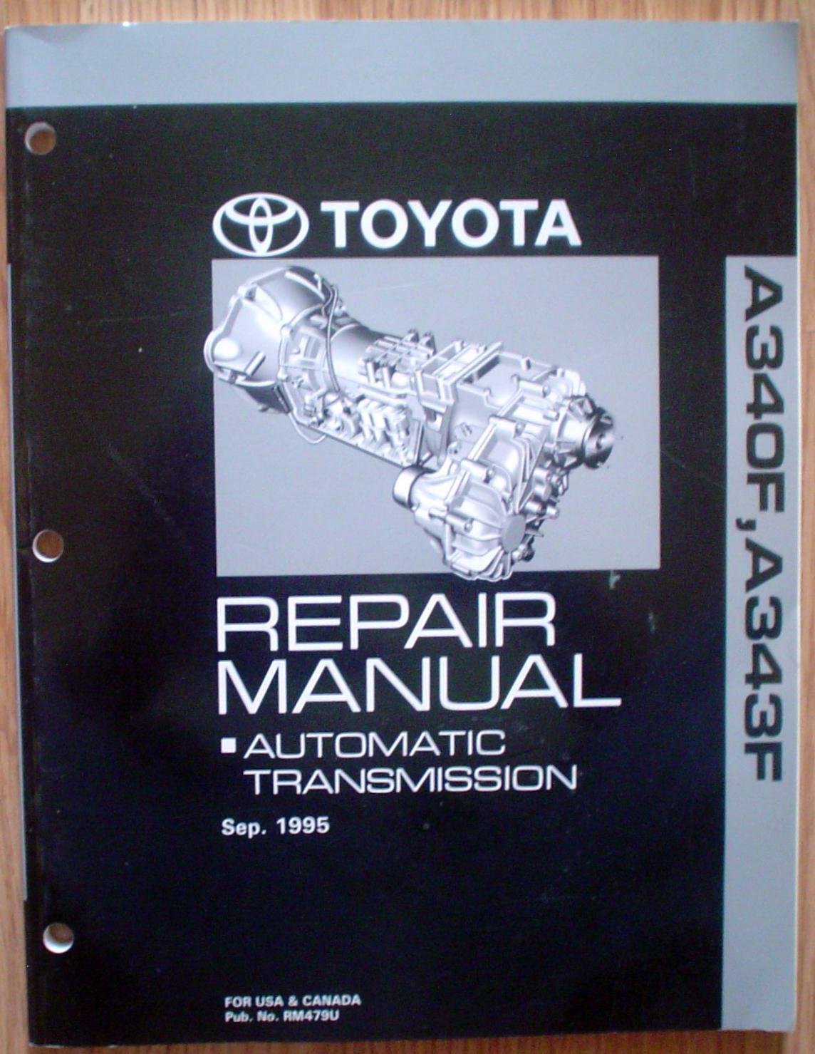 toyota a34of a343f repair manual automatic transmission sep 1995 rh amazon com Automatic Transmission Diagram Honda Automatic Transmission Repair Manual