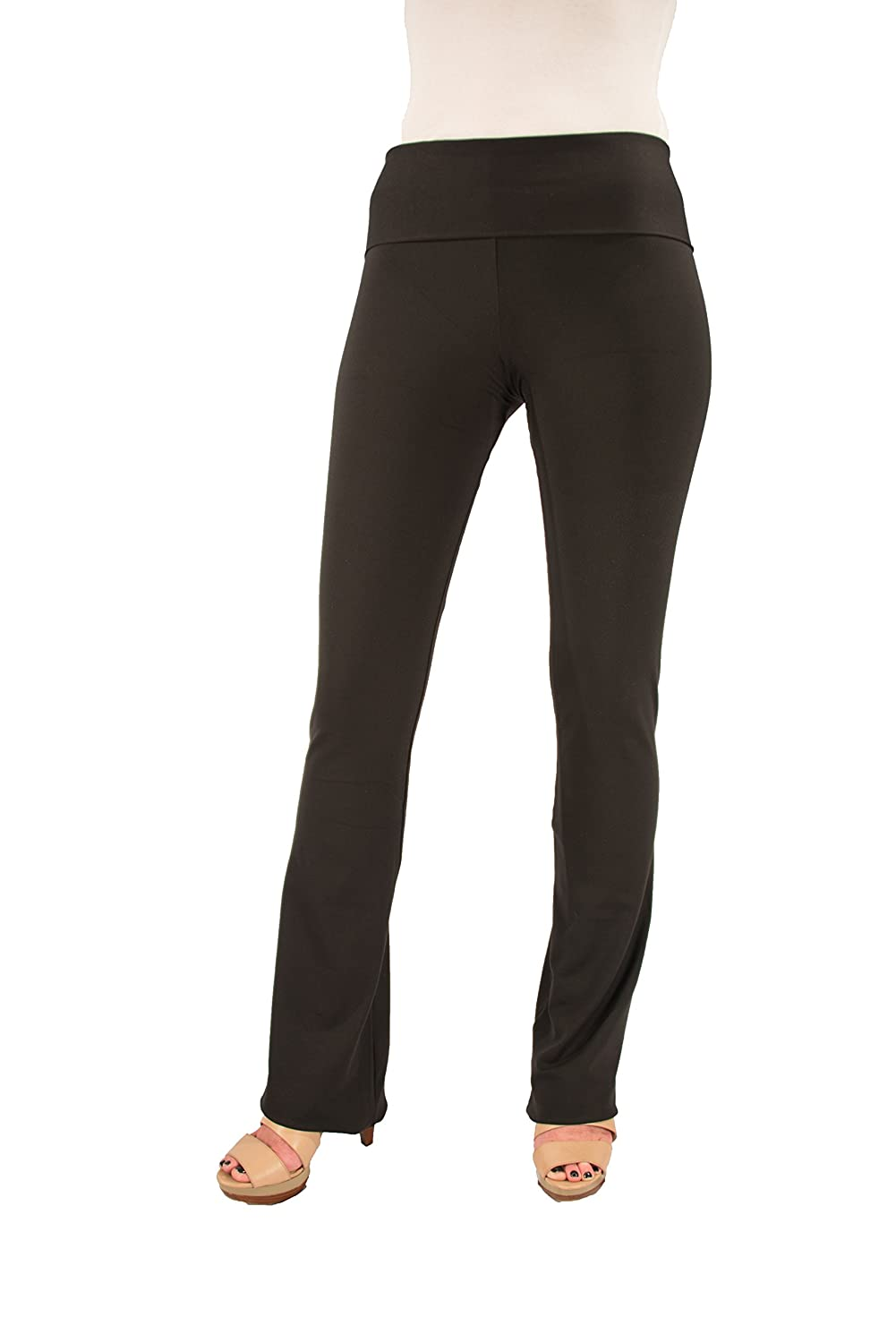 """Hold Your Haunches """"As Seen on Shark Tank"""" Women's Booty Patootie Bootcut Pants-XS-Black-32""""Inseam"""