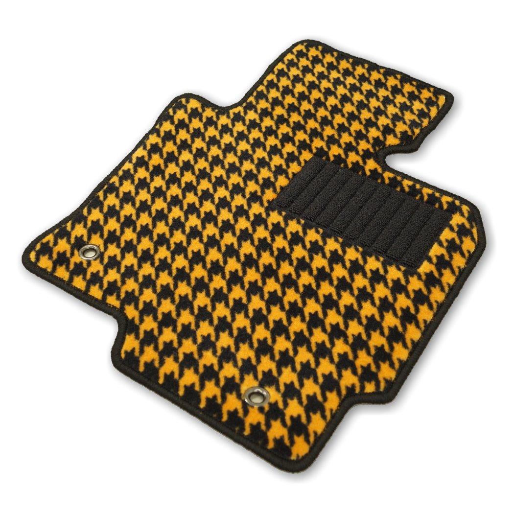 Hotfield ベンツ BENZ Cクラス W205 セダン フロアマット+トランクマット 右ハンドル / 千鳥オレンジ B015EZGNXI セダン / 右ハンドル仕様|千鳥オレンジ 千鳥オレンジ セダン / 右ハンドル仕様