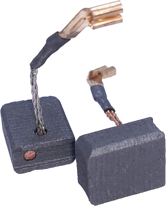 2//Pack N257540 Grinder Carbon Brush Set Replacement for Dewalt DWE402 DWE402N DWE402W Angle Grinder