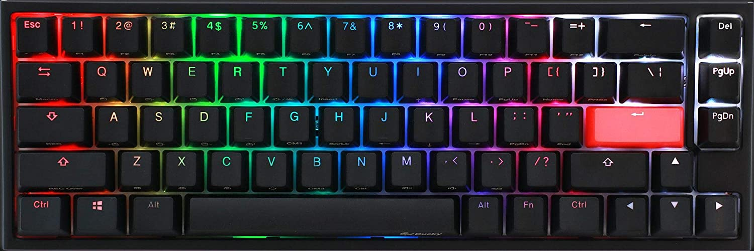 Ducky One 2 SF Gaming MX-Silent-Red, RGB LED – Negro ...