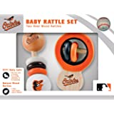 MLB  2 Pack Baby Rattle MLB Detroit Tigers