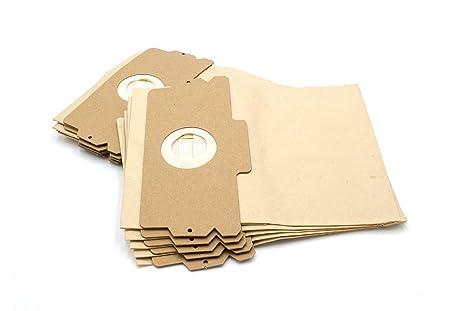 vhbw 10 bolsa papel para aspirador robot aspirador multiusos AEG/Electrolux Vampyr 508, 509, 510, 515, 516, 517, 600, 6002, 6003, 6004