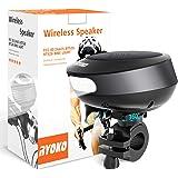 Bike Light Bluetooth Speaker, Wireless Bike Speaker with Loud Sound & Rich Bass, Bluetooth V4.1+EDR and LED Torch Light…