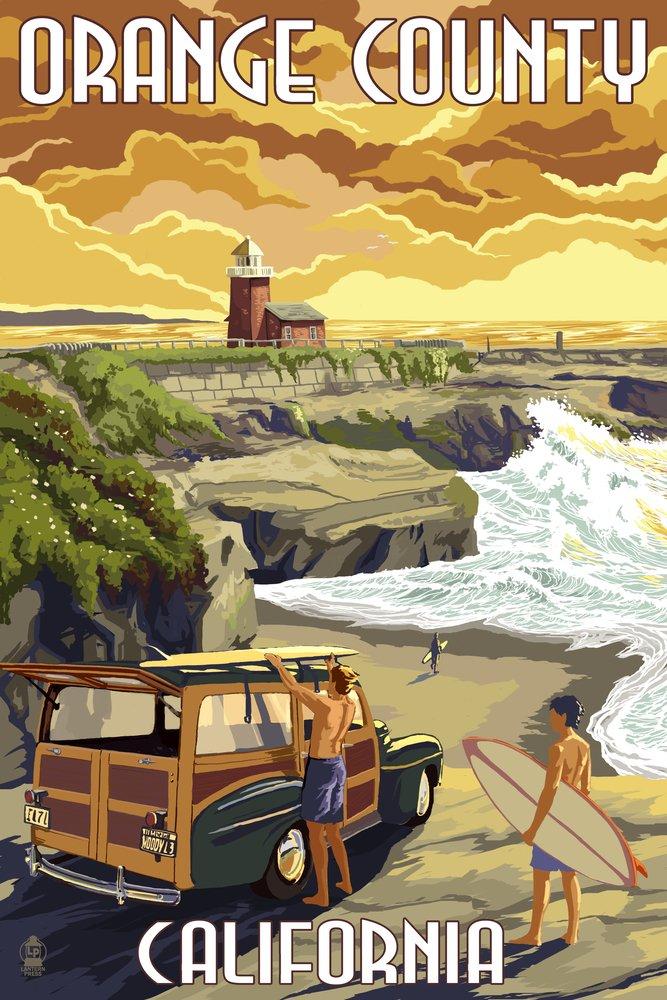 【激安セール】 カリフォルニア州オレンジ郡 – Woodyと灯台 Print 15oz Woodyと灯台 Mug LANT-3P-15OZ-WHT-46538 B00N5CNX5O 9 x Art 12 Art Print 9 x 12 Art Print, コウカシ:4df186c9 --- podolsk.rev-pro.ru