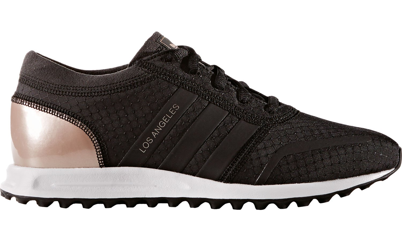 Adidas los Angeles W, Zapatillas de Gimnasia para Mujer 42 2/3 EU|Noir