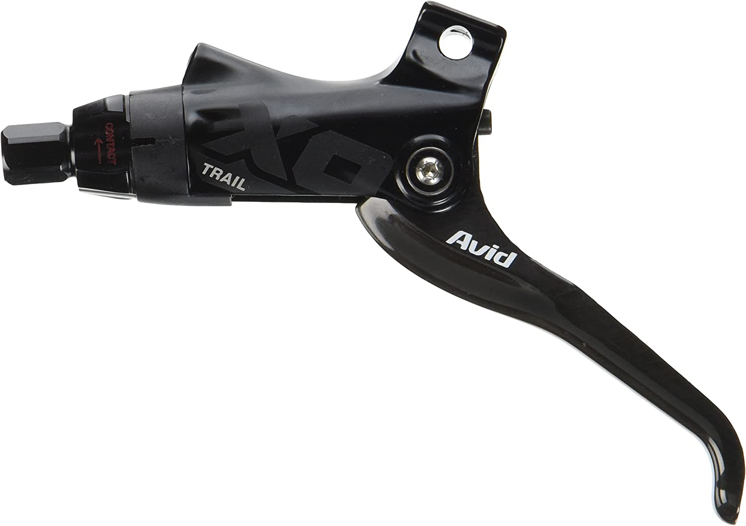 Image of Avid Lever Assy X0 Trail GS 2013 w/Carbon Lever (Tooled Reach Adj) Black/Black (Hinged Clamp/MMX Compatible) Brakes Disc Hydralic Greys Brake Levers