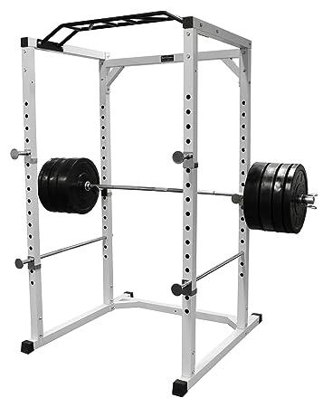Power rack selber bauen  Pro Power Cage / Rack / Hantel Käfig / Kraftstation BCA-08: Amazon ...