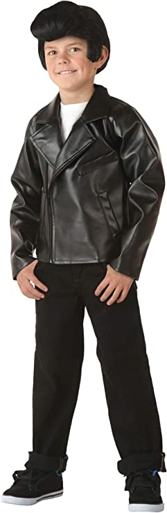Kids 1950s Clothing & Costumes: Girls, Boys, Toddlers Kids Grease T-Birds Jacket Costume Danny Costume Jacket $42.98 AT vintagedancer.com