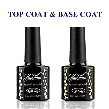 Amazon Com Yaoshun Brand Uv Gel Nail Polish Led Nature Top Coat