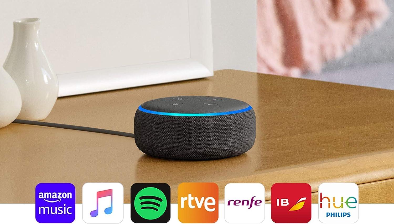 Bajada de precio para altavoz inteligente Echo Dot con Alexa