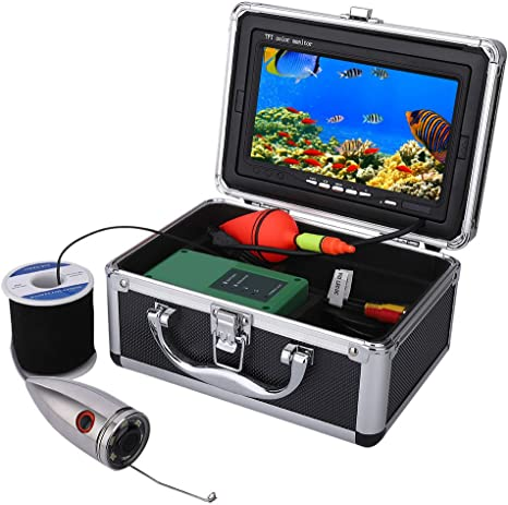 15M Underwater Fishing Camera 12x IR Night Vision Light IP68 Fishfinder 1000TVL