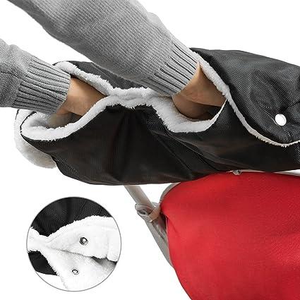 Guantes de Silla de Paseo, Boonor guantes para carro bebe Guantes Forro Polar Manoplas guantes
