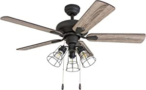 Prominence Home 50588-01 Madison County Industrial Ceiling Fan, 42