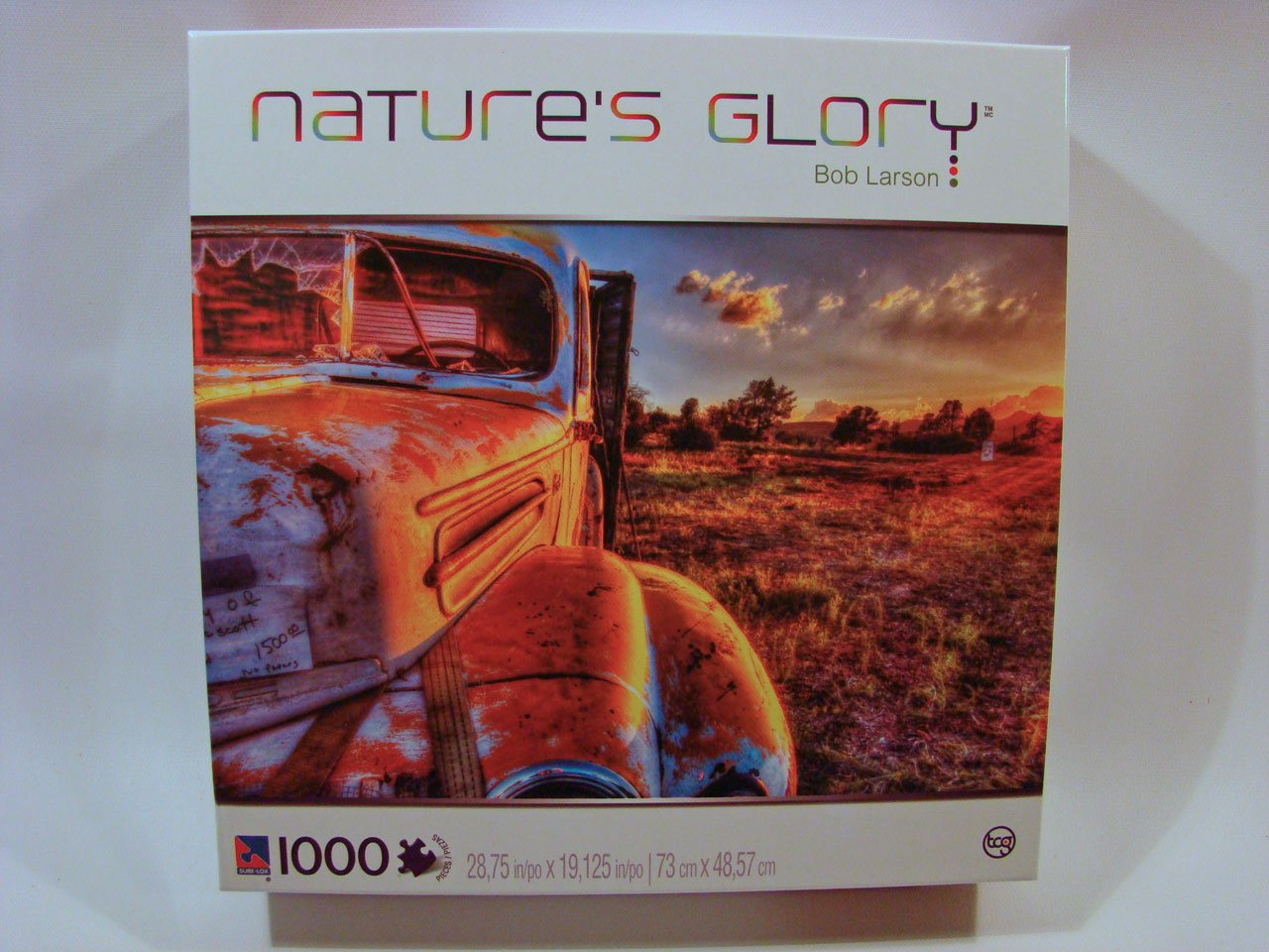 Nature's Glory 1000 Piece Jigsaw Puzzle: Out to Pasture