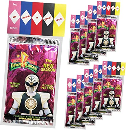 Amazon.com: Power Rangers Favores de fiesta, hacemos un gran ...