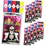 Power Rangers Party Favors, We Make A Great Team 10 Pack, New Power Rangers Party Supplies or Valentines Day Cards for Kids School Classroom Exchange, Creative HASSLE FREE Pre Assembled Gift Idea
