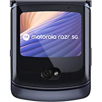 Moto Razr 5G,8GB RAM, 256GB Internal Memory, Dual SIM - Polished Graphite