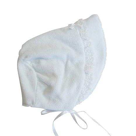 648163246a55c 新生児ベビー用 お帽子 柔らか無撚糸(むねんし)パイル サックス