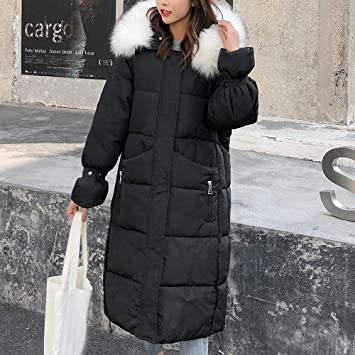 Excellent Value Besde Womens Autumn and Winter Fashion Faux Fur Winter Hooded Wild Elegant Solid Jacket