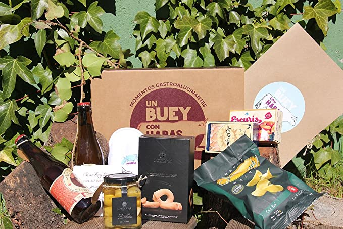 Cesta Gourmet Cuando seas Padre, comerás…: Amazon.es: Alimentación ...