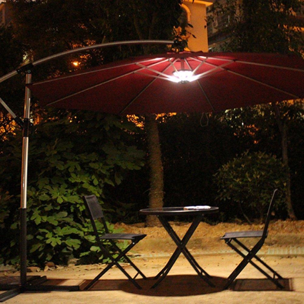 Patio Umbrella Light Peyou Wireless 3 Level Brightness 28 Led Patio