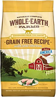 product image for Whole Earth Farms Grain Free Dry Cat Food