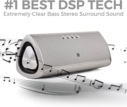 Amazon Com Best Bluetooth Speaker By Iskipper Portable Wireless Hd Music Sound Speaker Amazing Subwoofer Stereo Surround Audio Performance Aluminum Sleek Durable Design 12 Hours Playtime 66