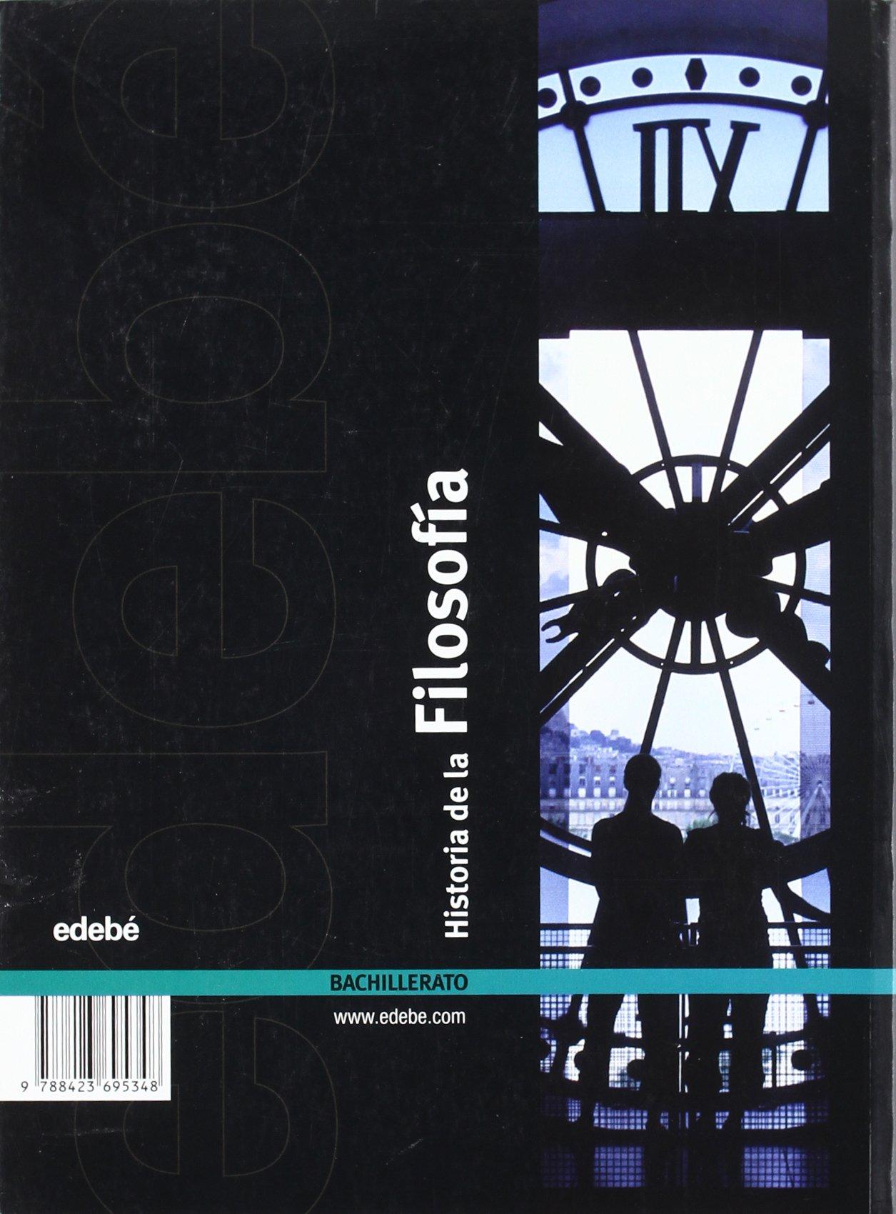 Historia de la filosofía, Bachillerato - 9788423695348: Amazon.es: Edebé, Obra Colectiva: Libros