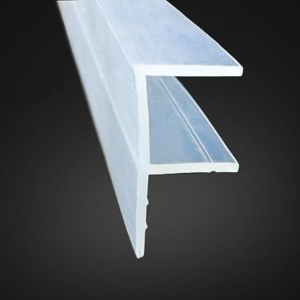 Shower Door Sweep Frameless Weatherproof Silicone Glass Shower Door