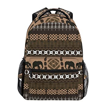 Amazon.com | Africa Classical Elephant Bookbag