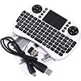 Mini Clavier Souris Air Mouse USB Sans Fil 2.4GHz Keyboard QWERTY pour iOS Android TV Box PS3
