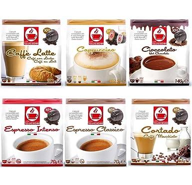 60 cápsulas de café y chocolate caliente Dolce Gusto ...