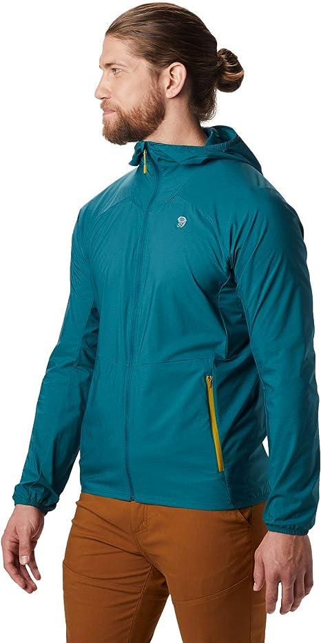 Mountain Hardwear KOR Preshell - Chaqueta Hombre - Azul petróleo Talla M 2019: Amazon.es: Deportes y aire libre