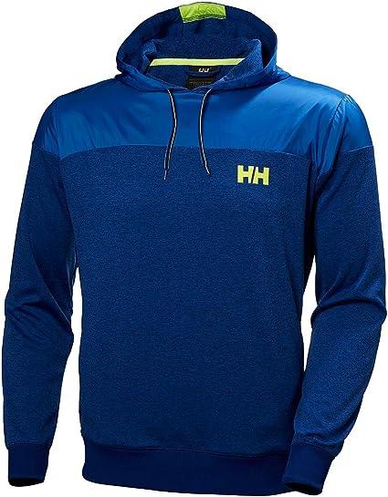 Helly Hansen Raido Hoodie Pull à Capuche Homme, Bleu
